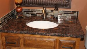 Hot Sale Granite Countertop, Granite Vanity Top, Bathroom Vanity Top for Kitchen and Bathroom pictures & photos