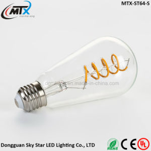 New Product Creative Heart Soft Filament LED Light Bulb E27 pictures & photos