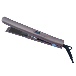 110-240V Steam Hair Flat Iron Hair Straightener with LED Temperature Display
