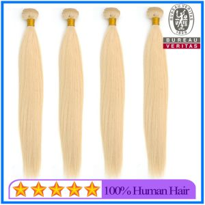 High Quality 613 Blonde Color Russian Hair Extensions pictures & photos