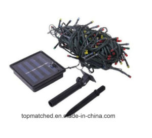 200 LED Solar Powered Multicolor String Light for Christmas Decoration pictures & photos