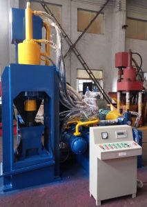 Hydraulic Briqutting Press Chip Briquetting Machines-- (SBJ-200B) pictures & photos