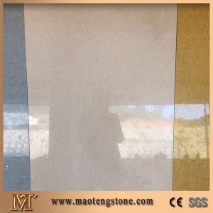 Beige Sparkling Quartz Engineering Quartz Stone Wholesale Price