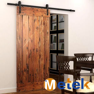 Hot Sale Cheap Interior Solid Wooden Barn Doors pictures & photos