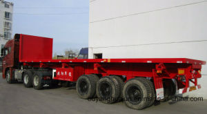 Low Bed Rear Self Dump Semitrailer pictures & photos