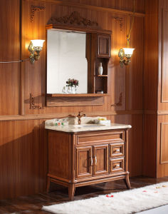Sanitary Ware Bathroom Cabinet with American Classic Series (6657) pictures & photos