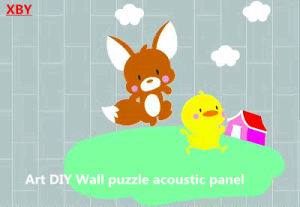 Acoustic Panel Wall Panel Ceiling Panel Decoration Panel 600*600mm pictures & photos