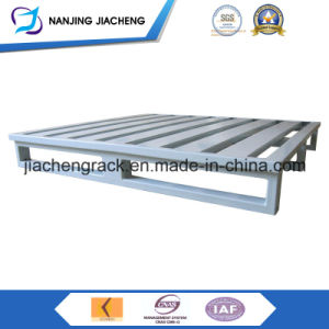 Heavy Duty Powder Coated Flat Faced Metal Pallet pictures & photos