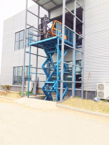 Stationary Hydraulic for Car Lift (SJG5-5) pictures & photos