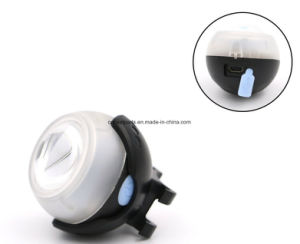 3W COB 2 In1 Bike Tail Light LED Camping Head Light pictures & photos