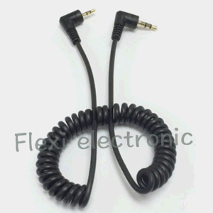 Aux RCA Cable Spring 3.5mm Adapter Cable pictures & photos