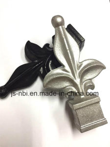 Diifferent Colour Wought Aluminum Spearhead of Garden Gates for Sand Casting pictures & photos