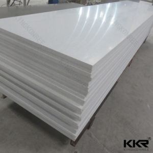 Snow White Acrylic Solid Surface for Bathroom Wall Panel pictures & photos