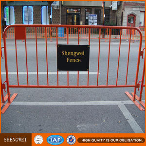 Powder Coated Portable Pedestrian Safety Crowd Control Barriers pictures & photos