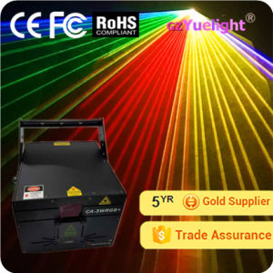 Guangzhou Hot Sale 3W Full Color Animation Laser Projector pictures & photos
