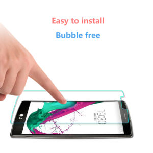2.5D 0.33mm 9h Tempered Glass Mobile Phone for LG G4 pictures & photos