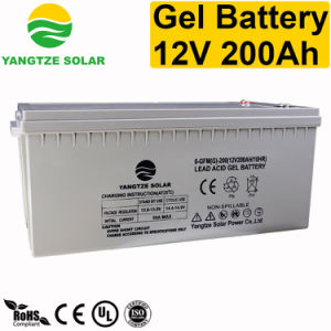 Top Sales 12V 200ah Gel Deep Cycle Battery pictures & photos