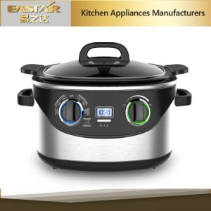 Digital + Mechanical Control Stainless Steel 8 in 1 Multi Cooker pictures & photos