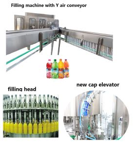 Complete Fruit Drink Juice Hot Filling Processing Production Line for Pet Bottle pictures & photos