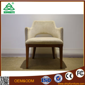 Modern Single Seat Chair and Solid Wood Legs Chair for Living Room pictures & photos