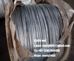 "1/4"", 5/16"", 3/8"", 1/2"" Galvanized Steel Wire Strand as Per ASTM a 475 pictures & photos"