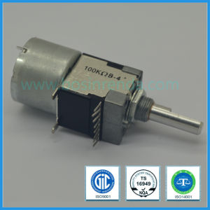 16mm Rotary Potentiometer Motorized Potentiomter for Audio Equipment pictures & photos