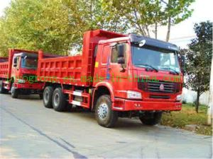 Cheap Price China Sinotruk HOWO Heavy Dump Truck for Sale pictures & photos