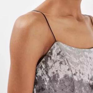 Fashion Women Sexy V-Neck Velvet Vest Clothes Dress pictures & photos