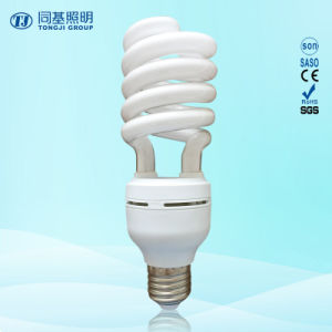 24W 40W Half Spiral 3000h/6000h/8000h 2700k-7500k E27/B22 220-240V CFL Down Price pictures & photos