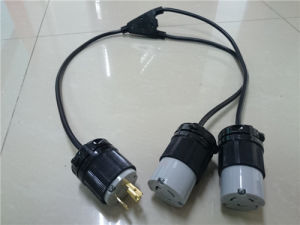 Power Extension Cable with 20A American Type Connector pictures & photos
