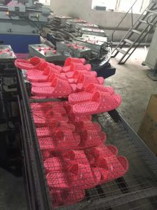 Plastic PVC Air Blowing Slippers/Shoes Making Machine pictures & photos