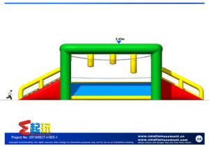 Competitive Single-Log Bridge Inflatable for Playground pictures & photos