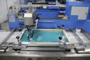 2colors Clothing Labels Automatic Screen Printing Machine Spe-3000s-2c pictures & photos