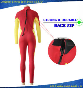 Customized Women′s Openwater Fullsleeve Triathlon Neoprene Surfingsuit