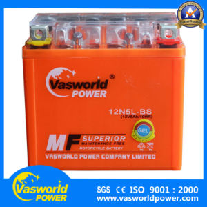 Gel Type Motorcycle Battery 12V5ah with Top a Quanlity pictures & photos