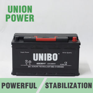 Mf 60038 Maintenance Free 12V100ah Auto Car Battery pictures & photos