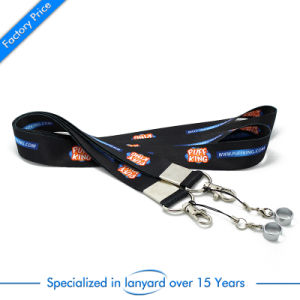 Wholesale Souvenir Gift Screen Printed Polyester Lanyard pictures & photos