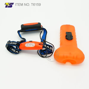 Battery Operated Multi Function Light Headlight Bicycle light (T6159) pictures & photos