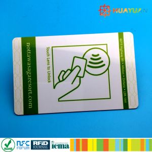 Chip encoding Plastic MIFARE Ultralight EV1 RFID Hotel key card pictures & photos