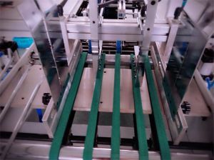 Gk-780A Straight Line Cardboard Box Folding Gluing Machine pictures & photos