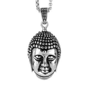 Stainless Steel Casting Male Buddha Jewelry Necklace Pendant pictures & photos
