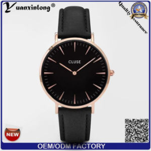 Yxl-233 Custom Wrist Watches Fashion Genuine Leather Brand Watches Ladies Business Men Women Watch pictures & photos