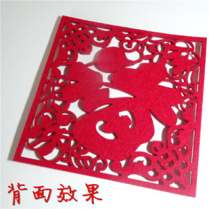 Laser Cutting Felt Cloth pictures & photos