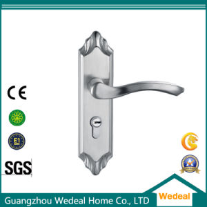 Wooden Door Lock with Stainless Steel Material pictures & photos