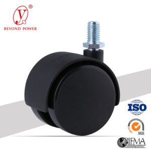 50mm Black Color Office Chair PA/Nylon Ball Casters Caster with Brake, Cabinet Screw Caster, Castor pictures & photos
