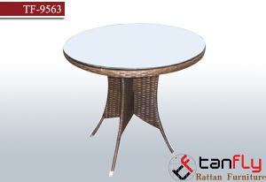 Wholesale OEM Outdoor Garden Rattan Round Table pictures & photos