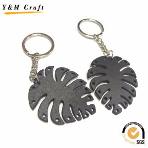 Newest Metal and Leather Pineapple Fruit Keychain pictures & photos