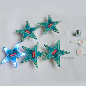 2016 Promotion Gifts LED Star Blinking Button Pins (3161) pictures & photos