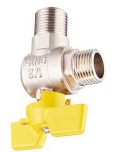 Male Thread Chromed Brass Ball Gas Valve pictures & photos