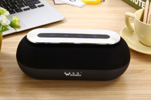 Fabric Portable Wireless Bluetooth Speaker Daniu Ds-7614 with Touch Control (AUX/Bluetooth/FM/TF card) pictures & photos